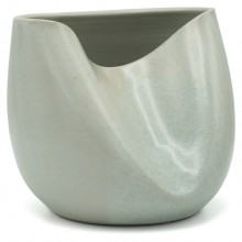Crushed Celadon Vase