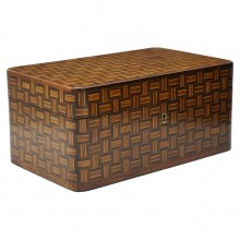 Multi-Wood Inlaid Box