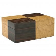 Maple and Macassar Art Deco Box