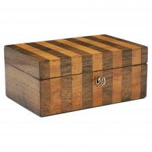 Satinwood and Rosewood Box