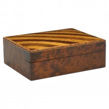 Maple and Satinwood Striped Box