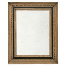 Oak Mirror with Molded Frame