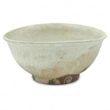 Thai Terra Cotta Striee Bowl