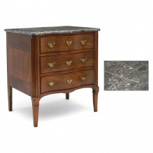 Belgian 18th Century Walnut Commode