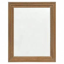 Stepped Cerused Oak Mirror