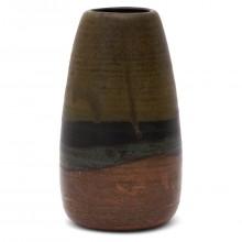 French Studio Art Stoneware Vase