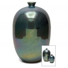 Iridescent Stoneware Vase