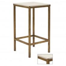 Square Gilt Iron Table