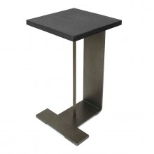 Steel and Slate Drinks Table