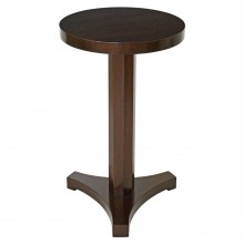Mahogany Gueridon Drinks Table