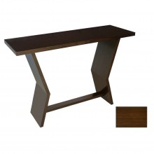 Oak Table With Angled Side Supports