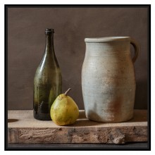 Framed Still Life Photograph by Thierry Genay