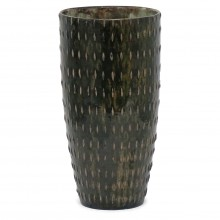 Studio Art Brown and Green Vase
