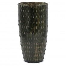 Studio Art Brown and Green Vase