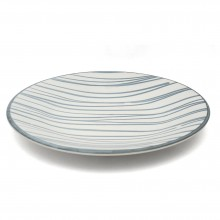 Blue and White Porcelain Platter