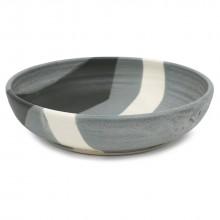 Abstract Stoneware Bowl