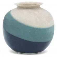 Three Color Porcelain Vase