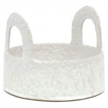 Pinched Stoneware Basket