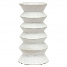Zig Zag Stoneware  Vase