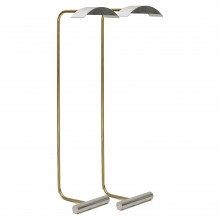 Brass and Nickel Plated Reading Light