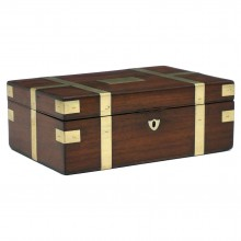 Mahogany and Brass English Box
