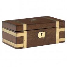 Mahogany and Brass English Box