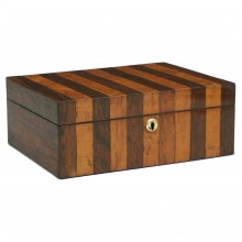 Rosewood and Burl Wood English Box