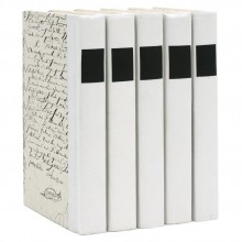 Decorative Books in Black and White