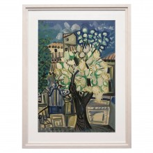 Raymond Debieve Landscape Oil on Board