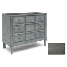 Three Drawer Painted Commode