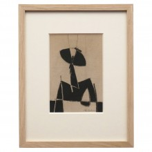 Abstract Figural Drawing by Jean Marc Louis