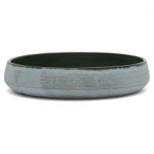 French Blue Stoneware Bowl