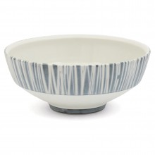 Large Blue and White Porcelain Bowl