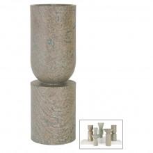 Soapstone Totem Vase