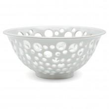 Pierced Porcelain Bowl