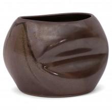 Brown Smashed Vase