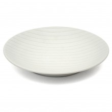 White Porcelain Lined Platter