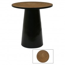 Circular Suar Wood Small Table