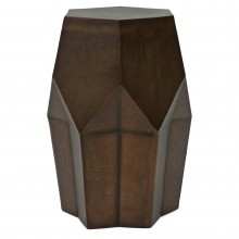 Hexagonal Drum Table