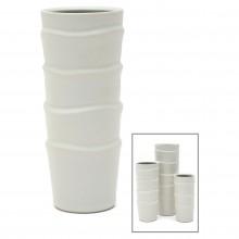 Medium Slip Edge Porcelain Vase