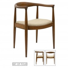 Set of Ten Danish Dining Chairs