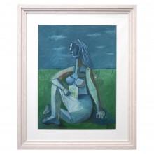 Figural Painting by Raymond Debieve