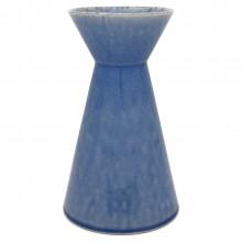 Blue Crackle Glazed Vase