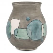 Studio Art Pottery Vase with Modernist Design