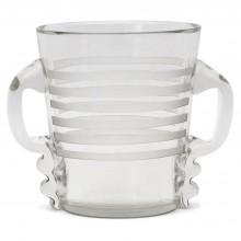 Large Glass Ice Bucket