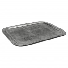 French Polished Steel Tray