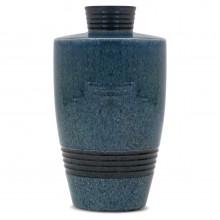 Large French Blue Vase