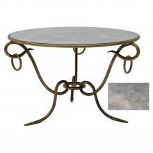 Circular Gilt Iron Table