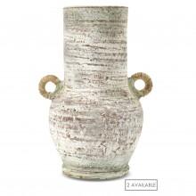 Painted Terra Cotta Vase