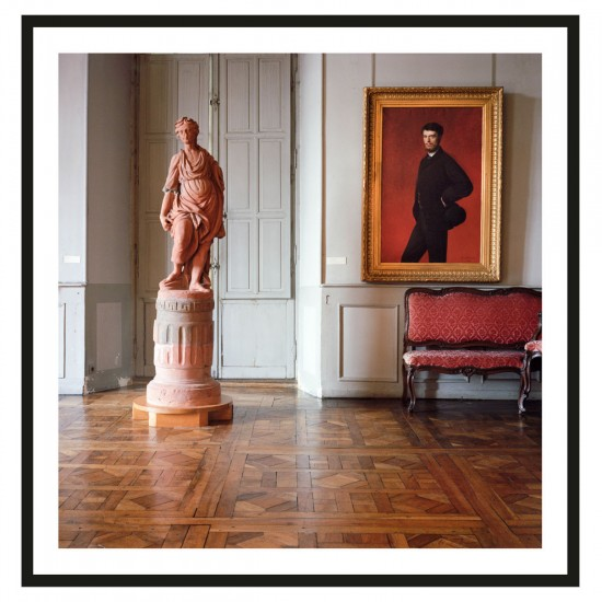 """Photograph """"Ingres Red Settee"""" by Dale Goffigon"""